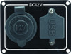 Cigarette & USB Socket Panel - 12v