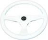 Multiflex Sports Wheel - ÔÇ£AlphaÔÇØ 3 Spoke - White