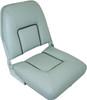 Folding Upholstered Seat - Grey