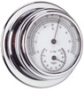 Thermometer & Hygrometer Combo - 70mm Chrome Plated Brass