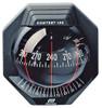 Contest 130 Sailboat Compass Black, Bulkhead  Vertical Mount, Black Card