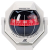 Contest 130 Sailboat Compass White, Bracket Mount, Red Card