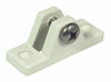 Canopy Deck Mount Nylon White - 6mm with Bolt