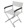 Folding White Chair
