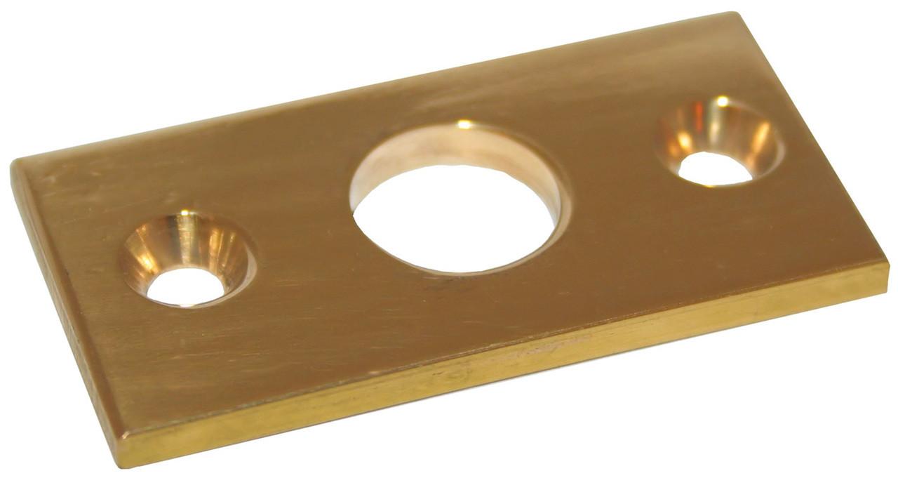 R/Lock Plate Flat Brs 3/8