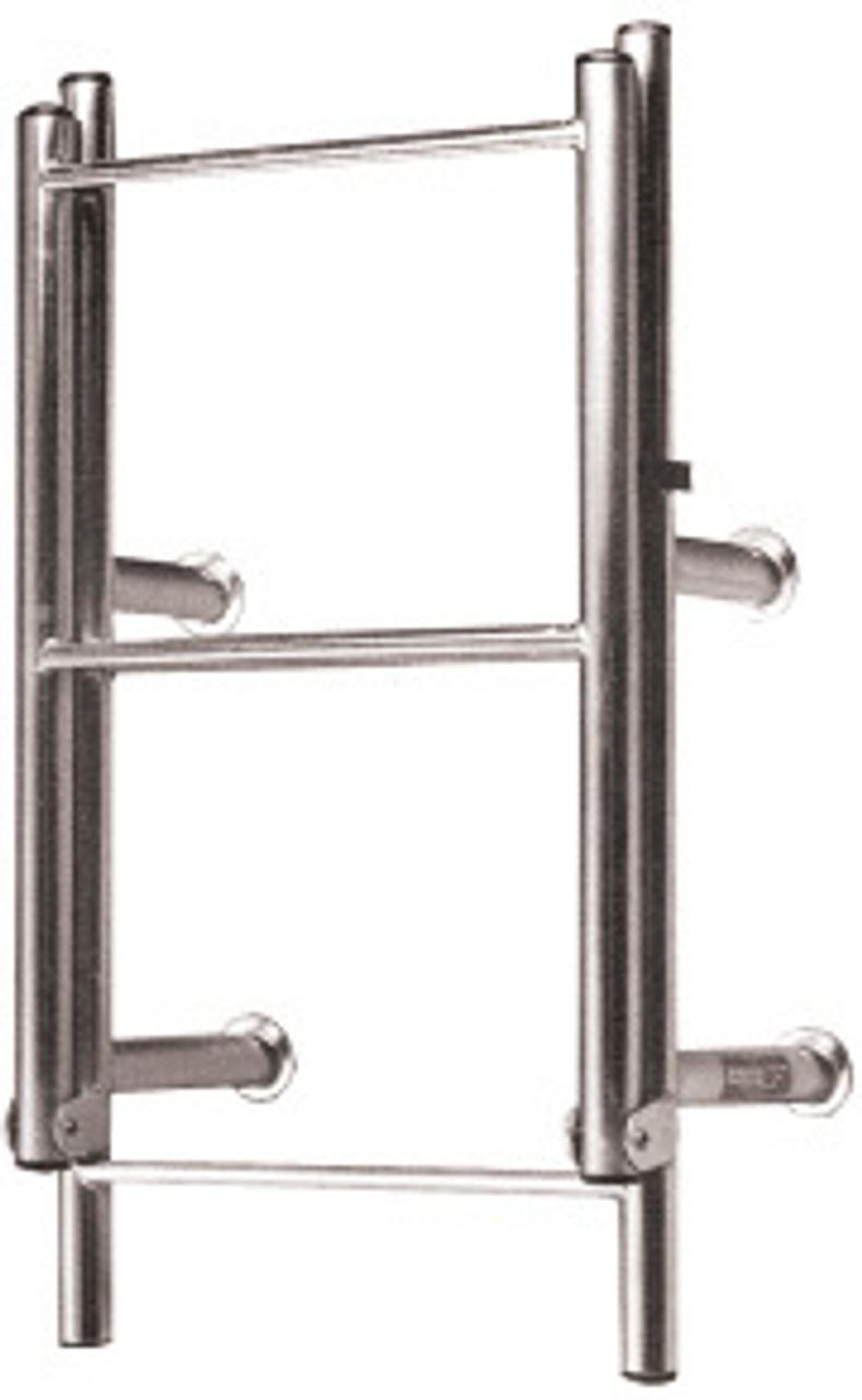 Manta Ladder S/S 4 Rung Open Top Straight