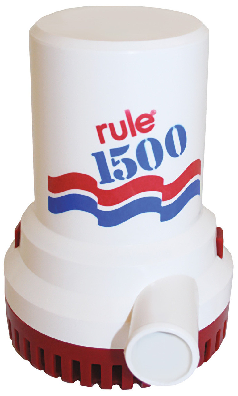 Bilge Pump - 'Rule' 1500GPH 12v