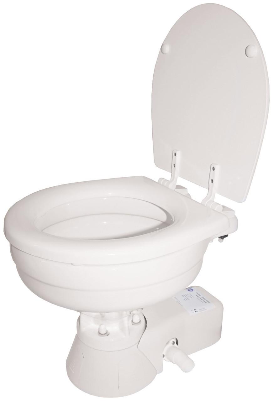 Toilet - Jabsco Quiet Flush Large Bowl 12v Fresh Water