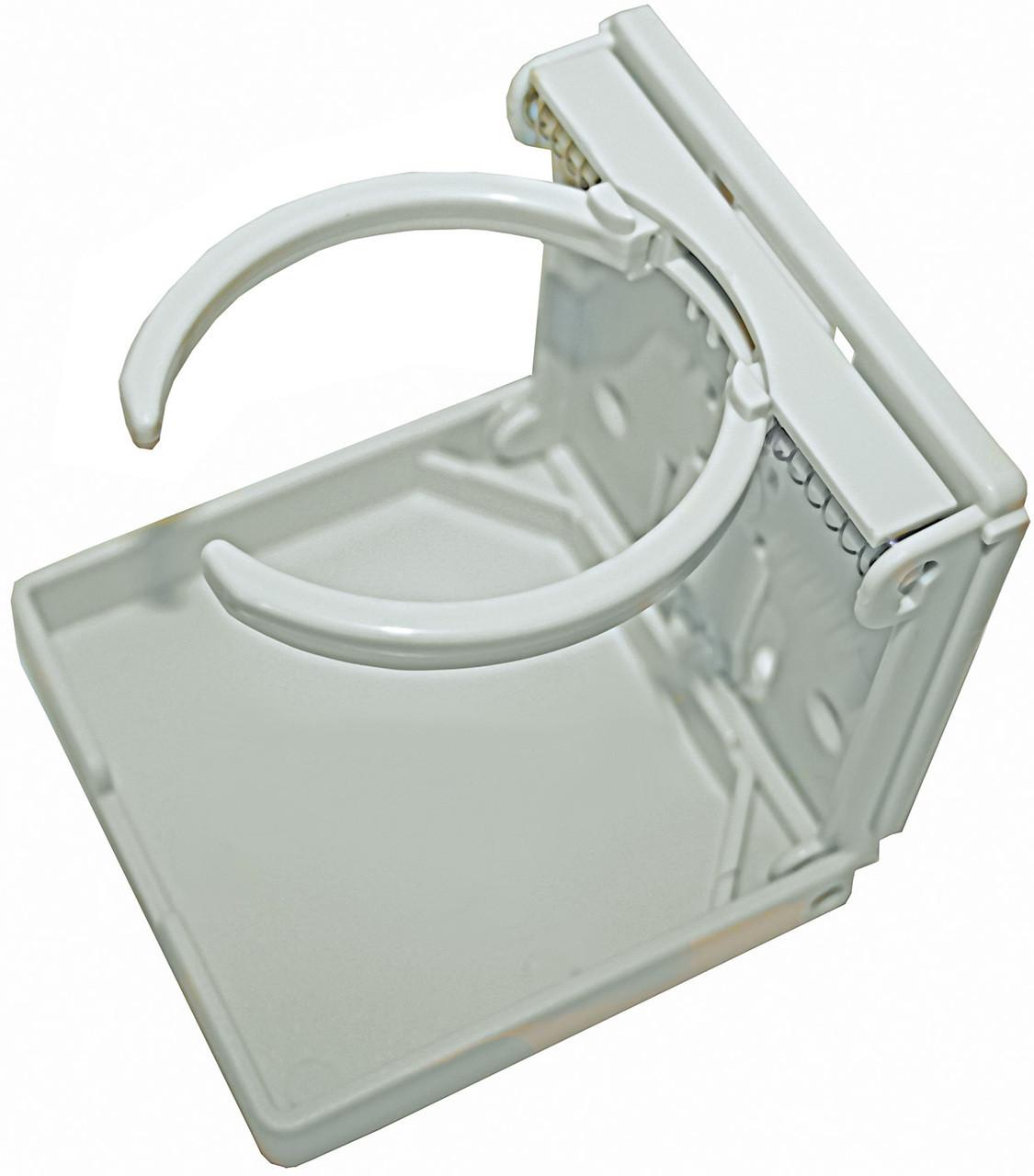Drink Holder - Folding White