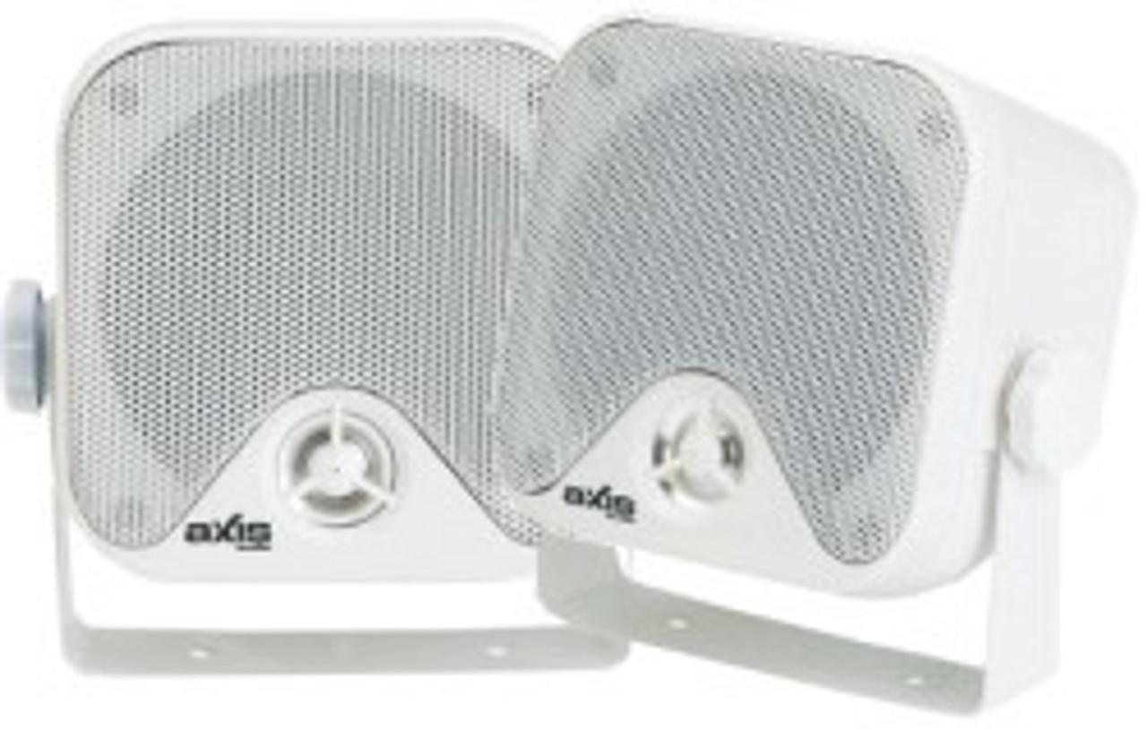 Axis 2-Way Box Marine Speakers 100mm x 100mm
