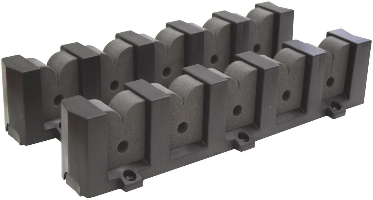 Rod Storage Racks - 5 x Rods Horizontal Mounting
