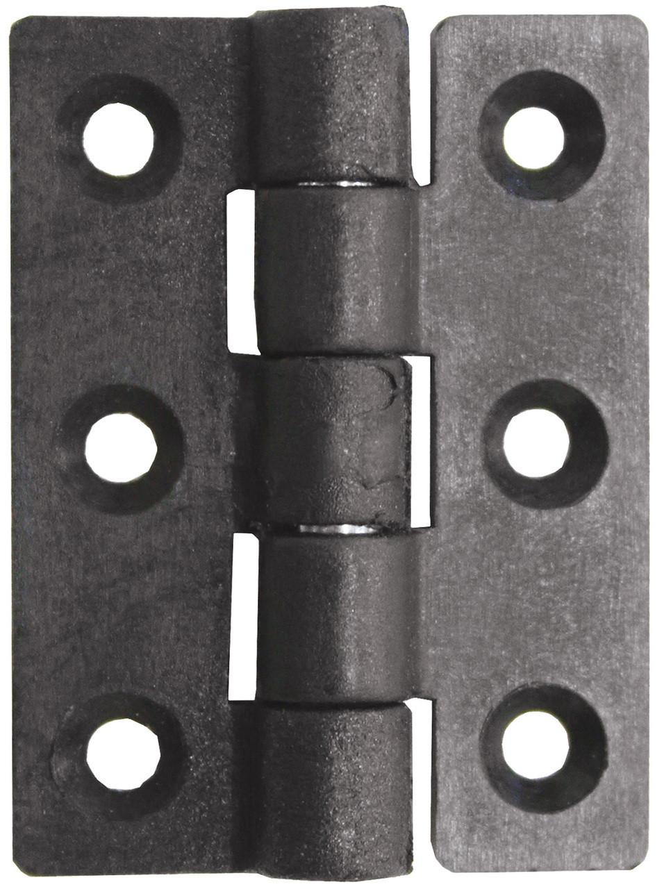 Nylon Butt Hinge - Black 45mm