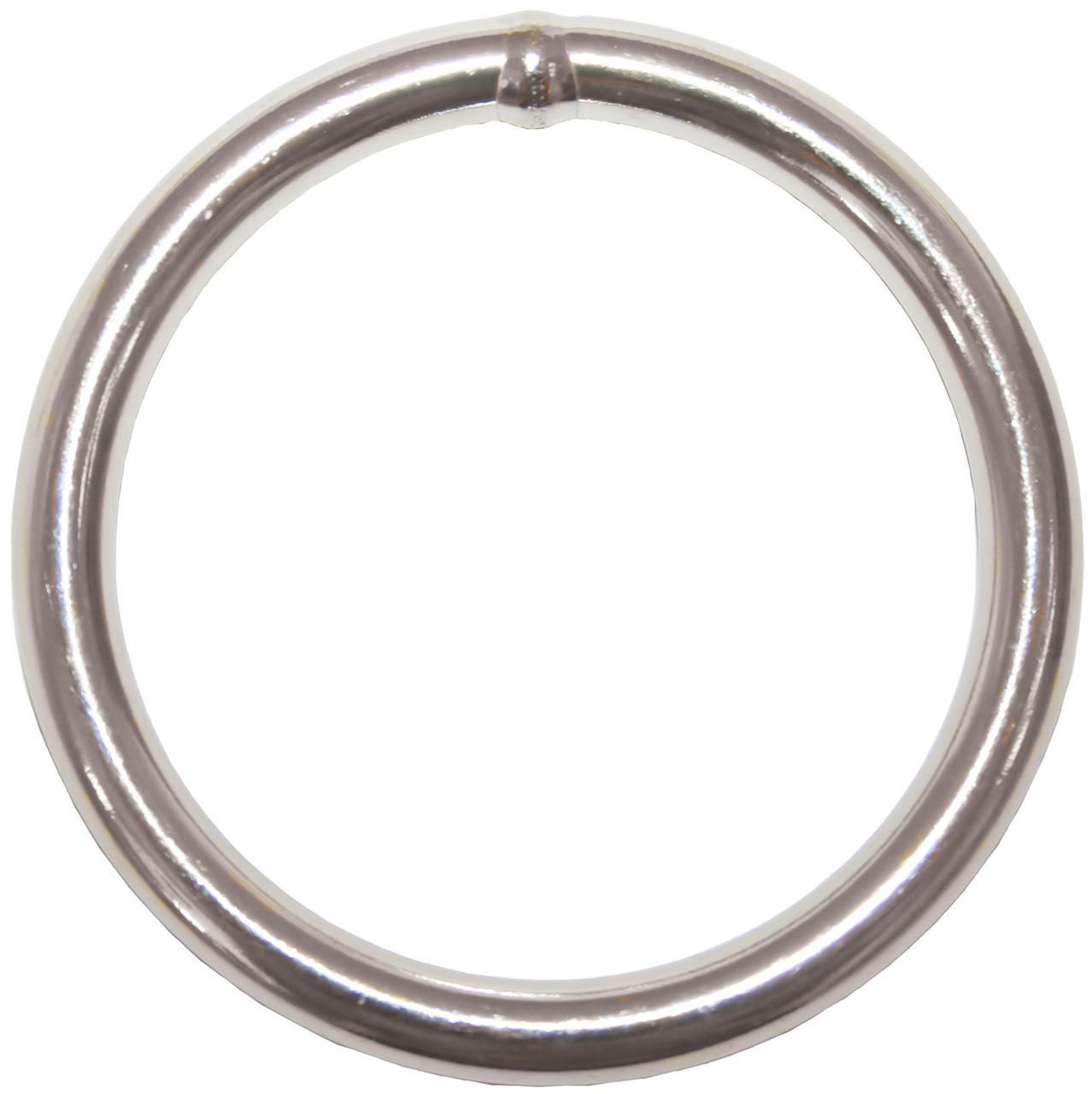 Round Ring S/S 6 x 40mm