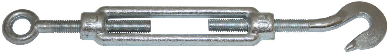 Turnbuckle Galv 8mm H & E