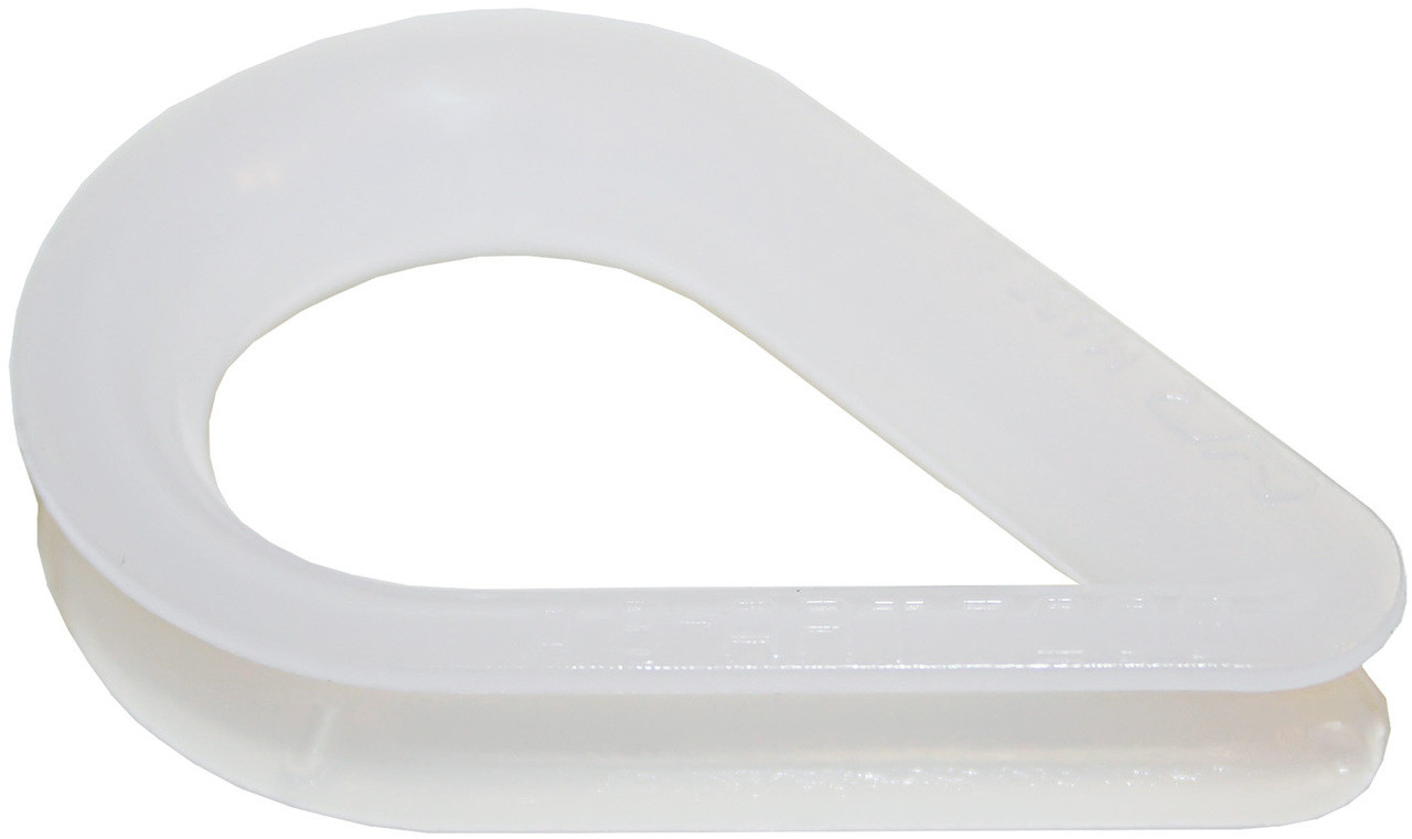 Thimble -White Nylon 12mm