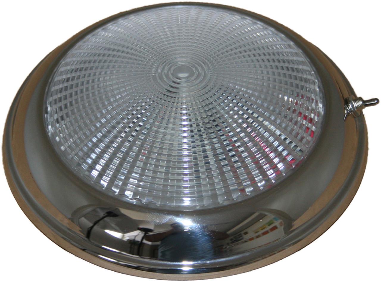 Low Profile Dome Light S/S - 12v