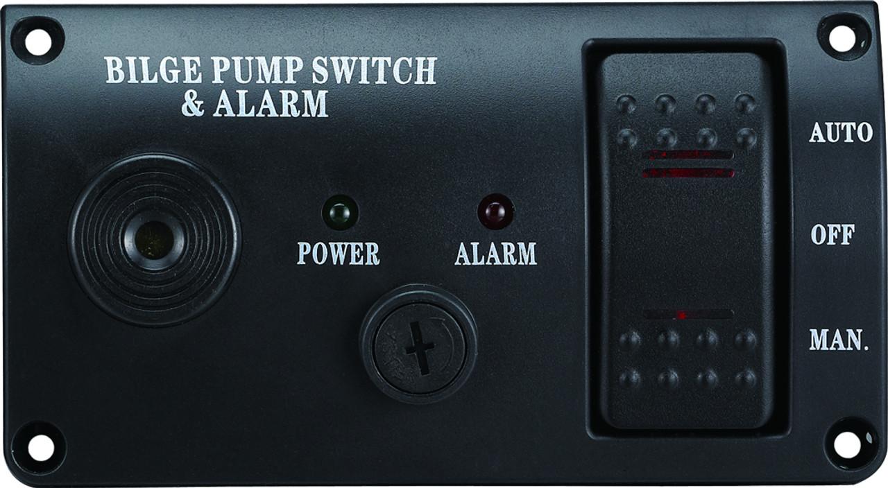 Bilge Alarm & Pump Control Panel - 12v