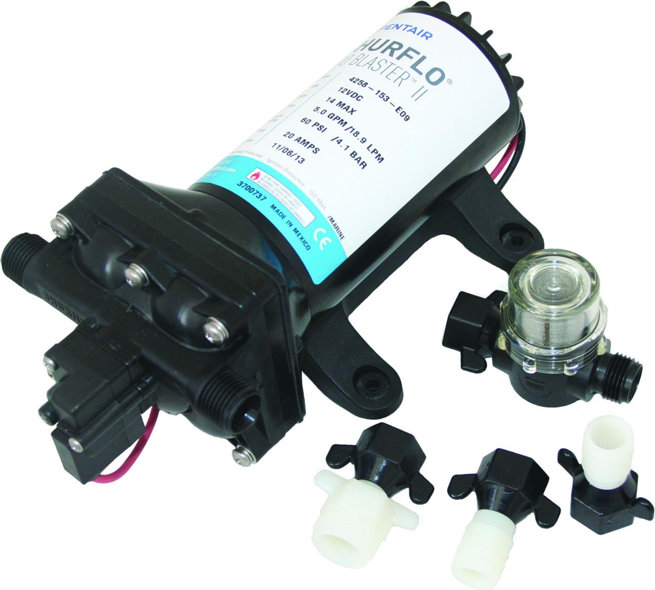 SHURflo 4.0 Pro-Baitmaster 2 Premium Pump - 12v