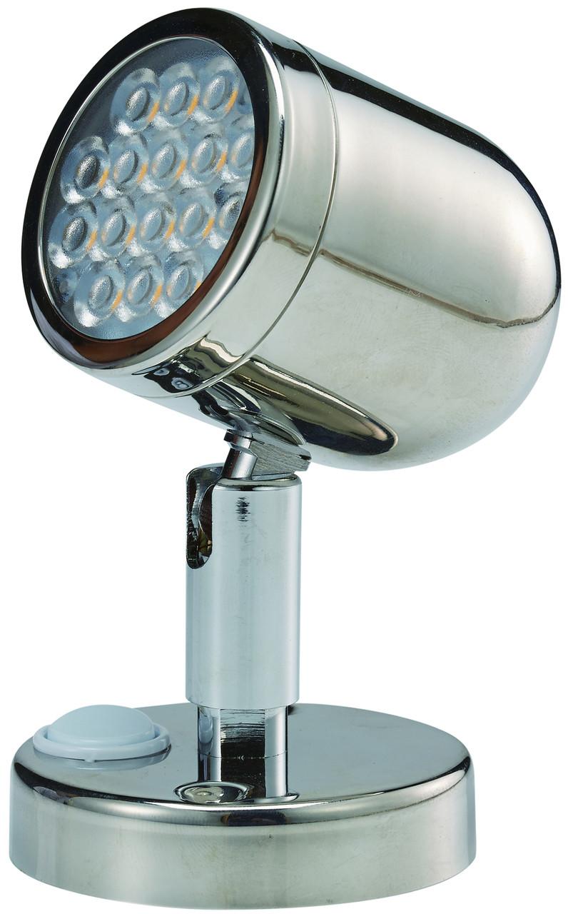 LED Stainless Steel Bunk Light - 12v