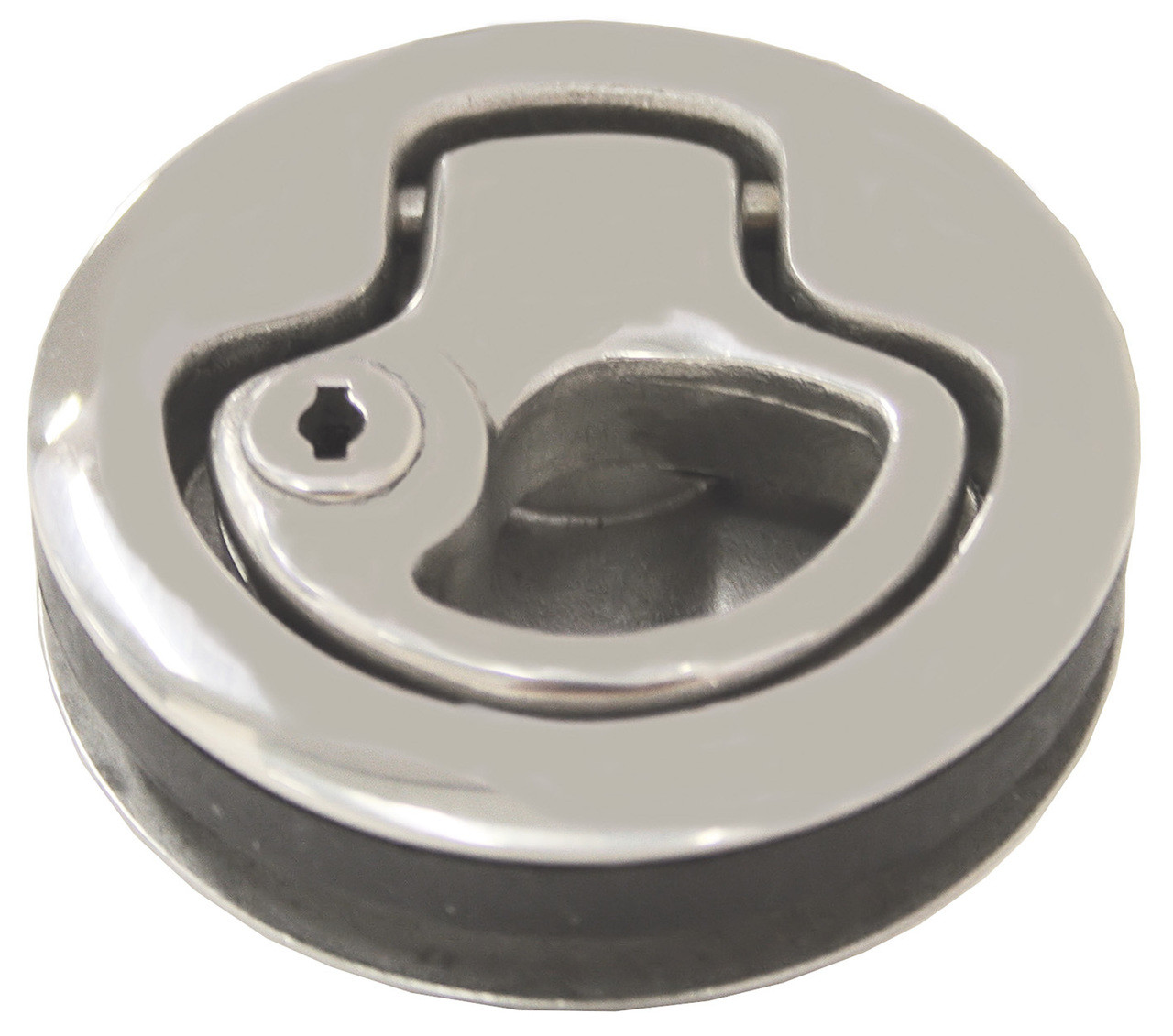 Flush Latch Stainless Steel with Key Lock