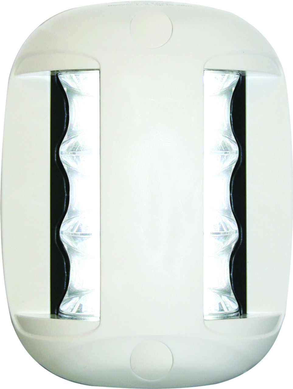 'FOS 20' LED Masthead Light - White Vertical Mount