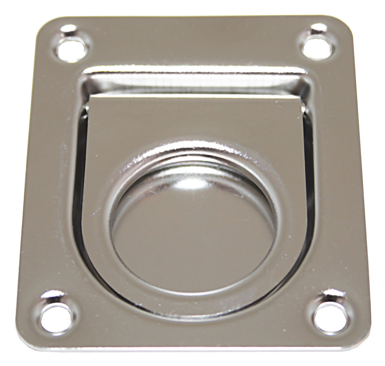 Flush Pull Stainless Steel 55mm x 65mm