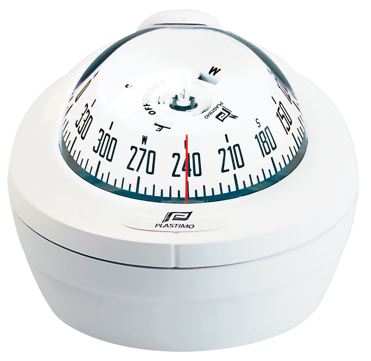 Offshore 75 Powerboat Compass - Binnacle, White