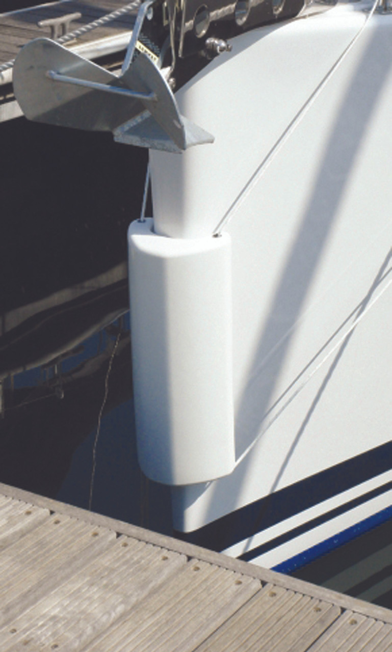 Use as bow fenders if docking nose in
