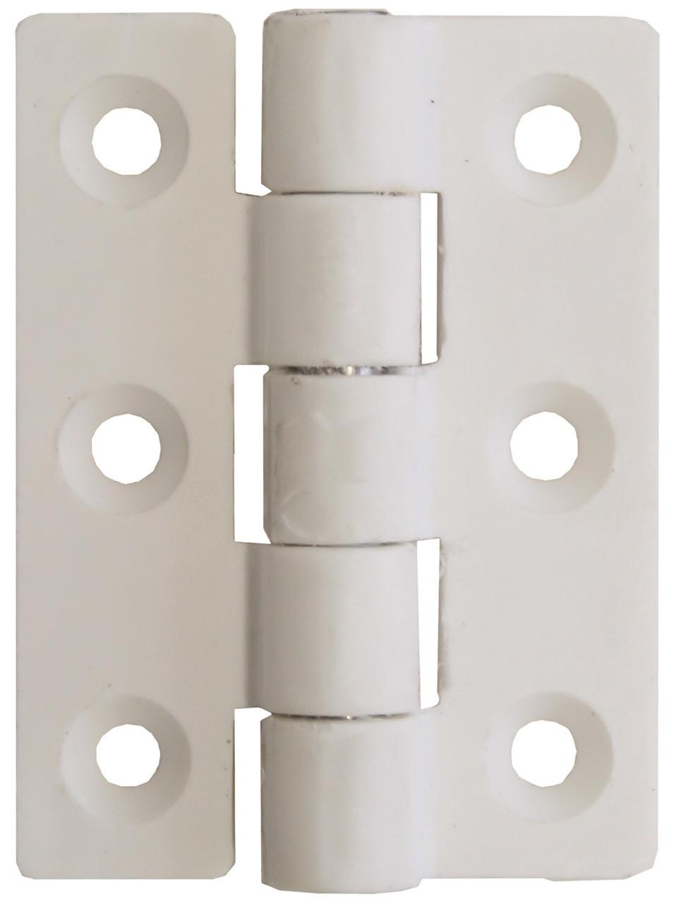 Nylon Butt Hinge - White 75mm