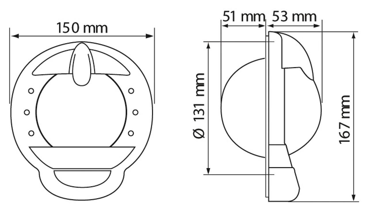 Contest 101 Sailboat Compass
