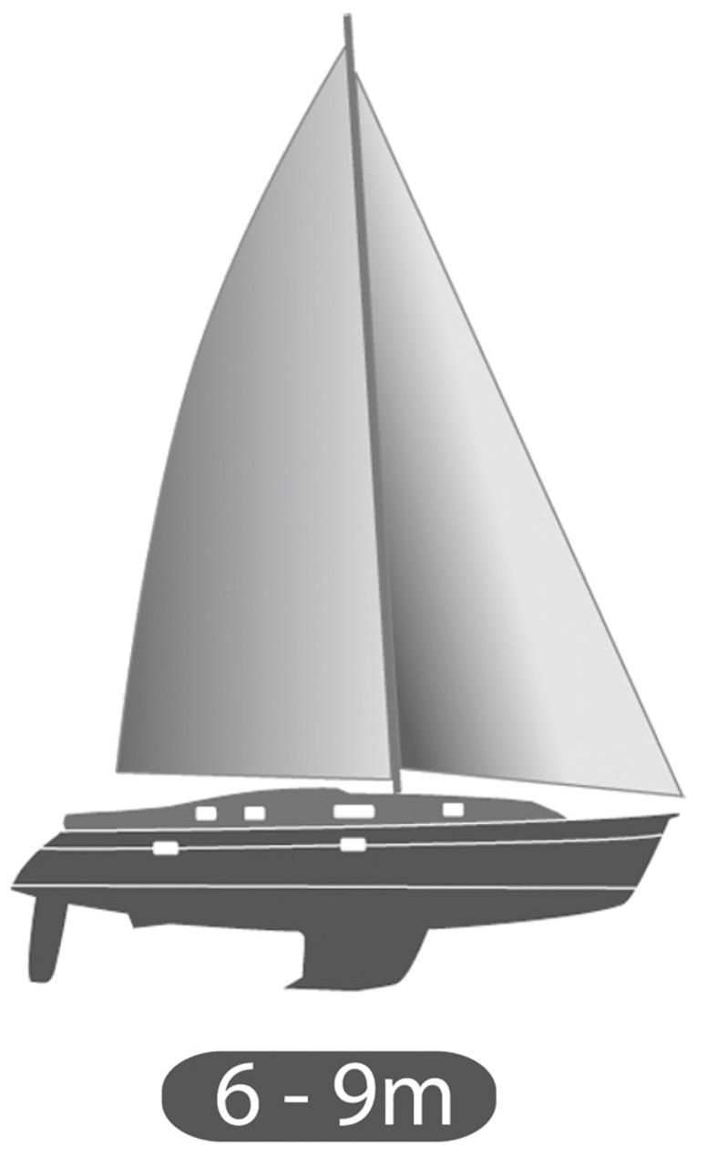 Plastimo 609-T Jib Reefing System - 6-9m Yachts