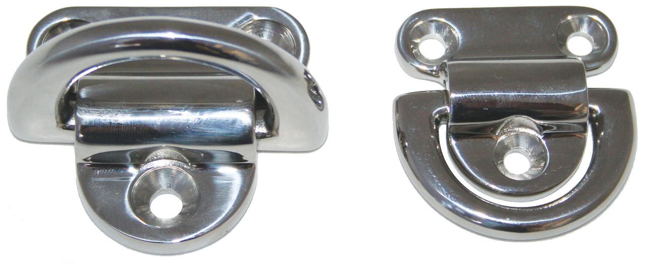 Eye Plate Folding S/S 8mm, 316 Grade Steel
