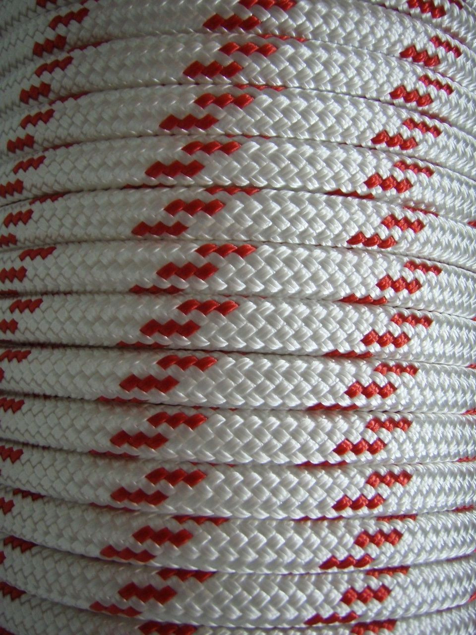 Rope - Double Braid Red Fleck 14mm x 1metre