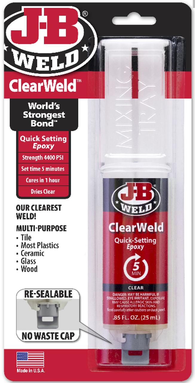 JB Weld - Clear Weld 25ml