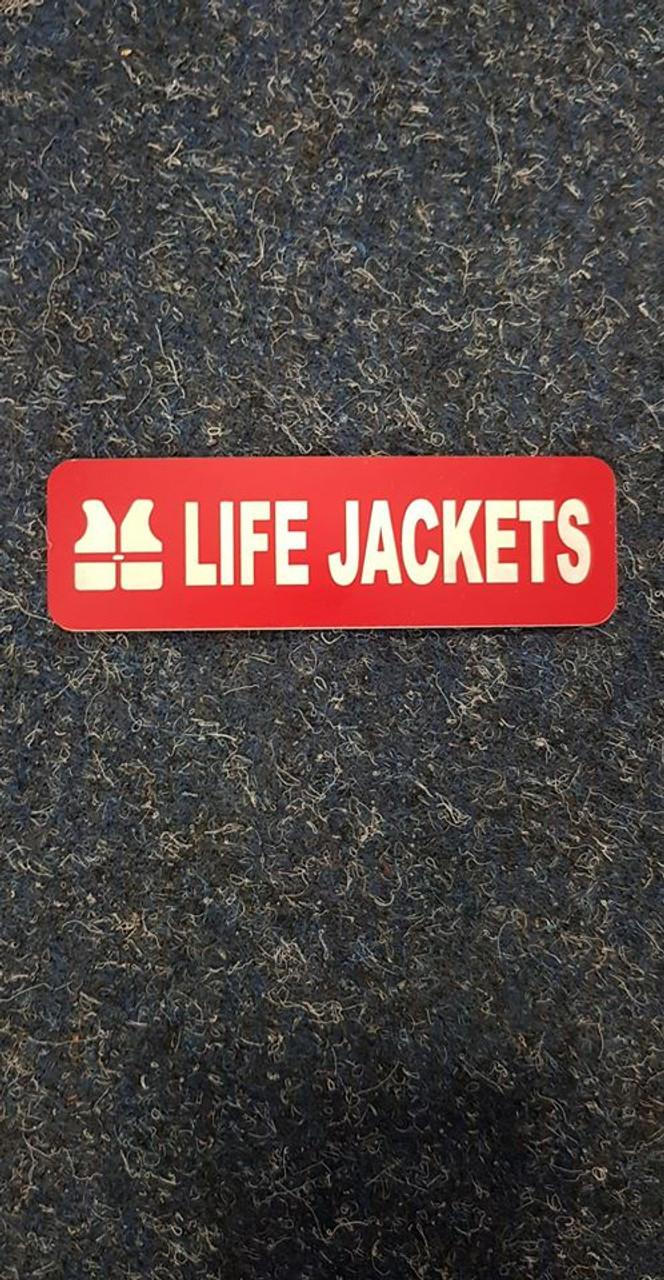 Label 'Life Jackets'