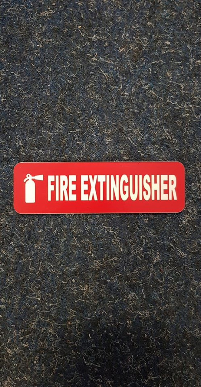 Label 'Fire Extinguisher'