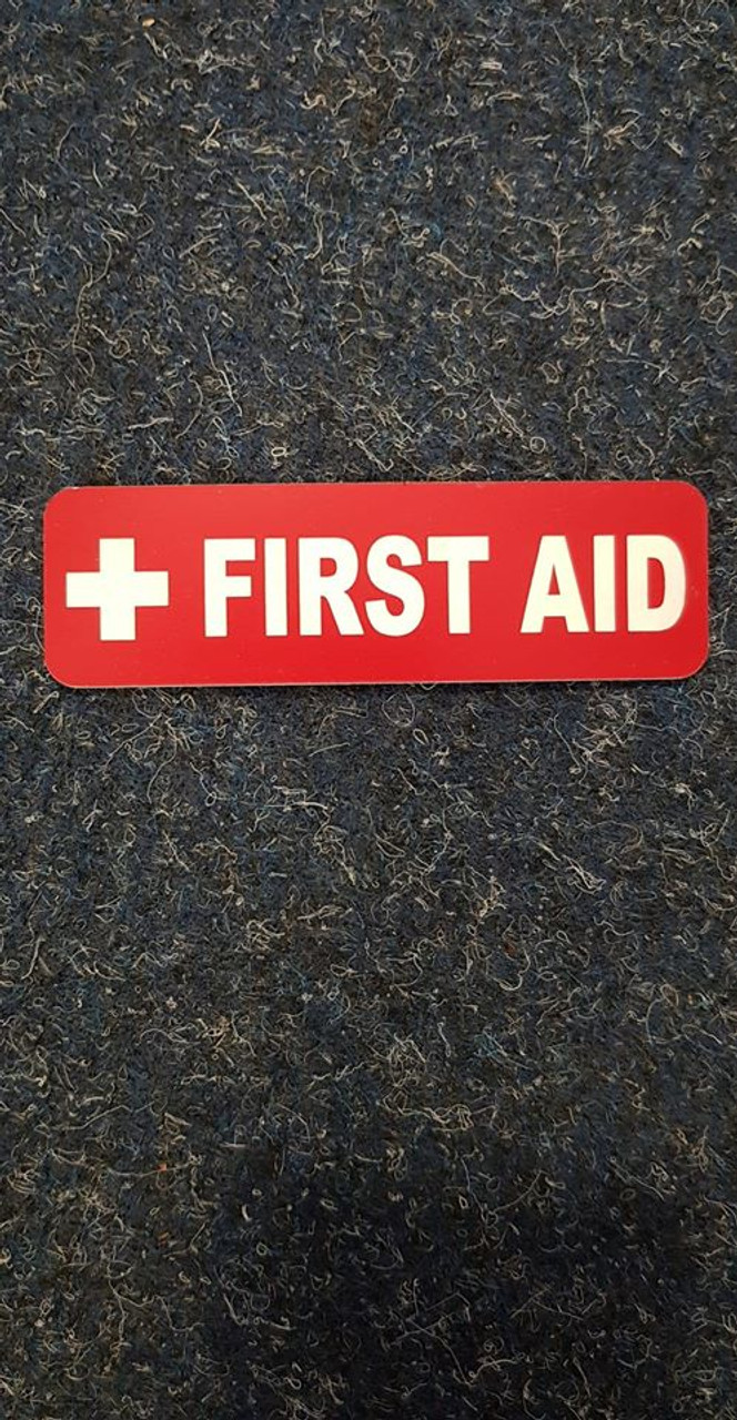 Label 'First Aid'