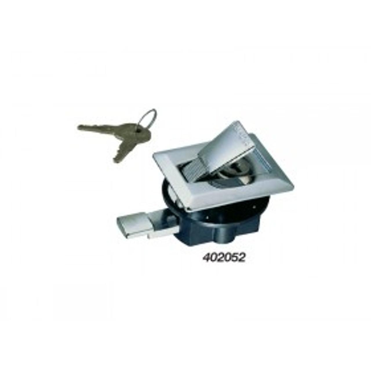 Perko Flush Latch - Chrome Plated Zinc