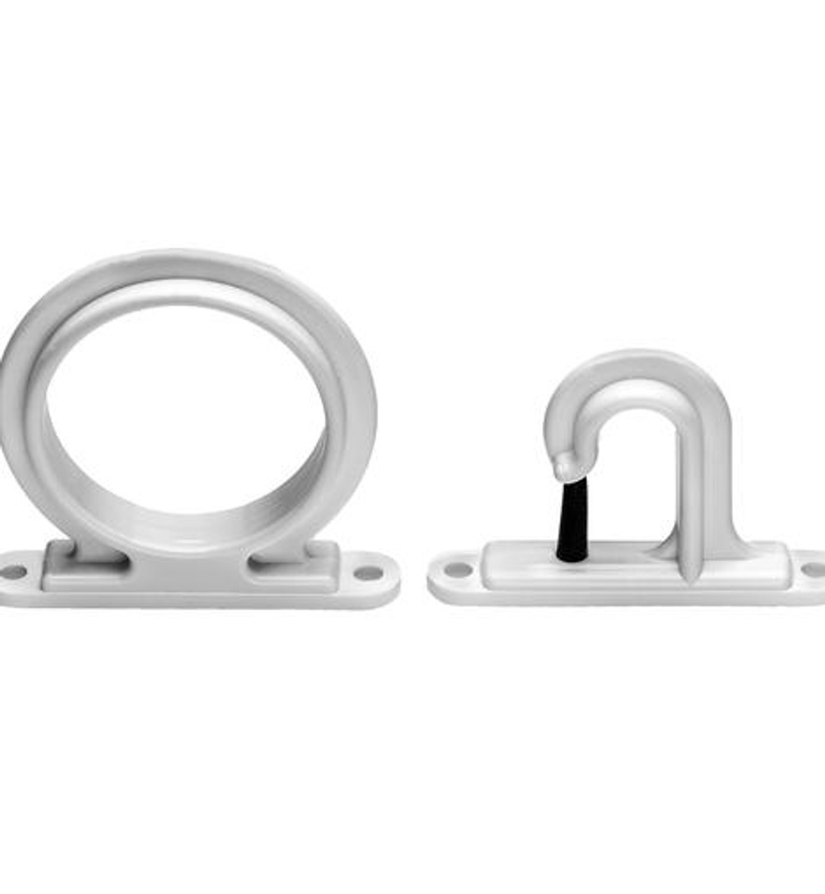 Rod Holder Storage - White 3pack