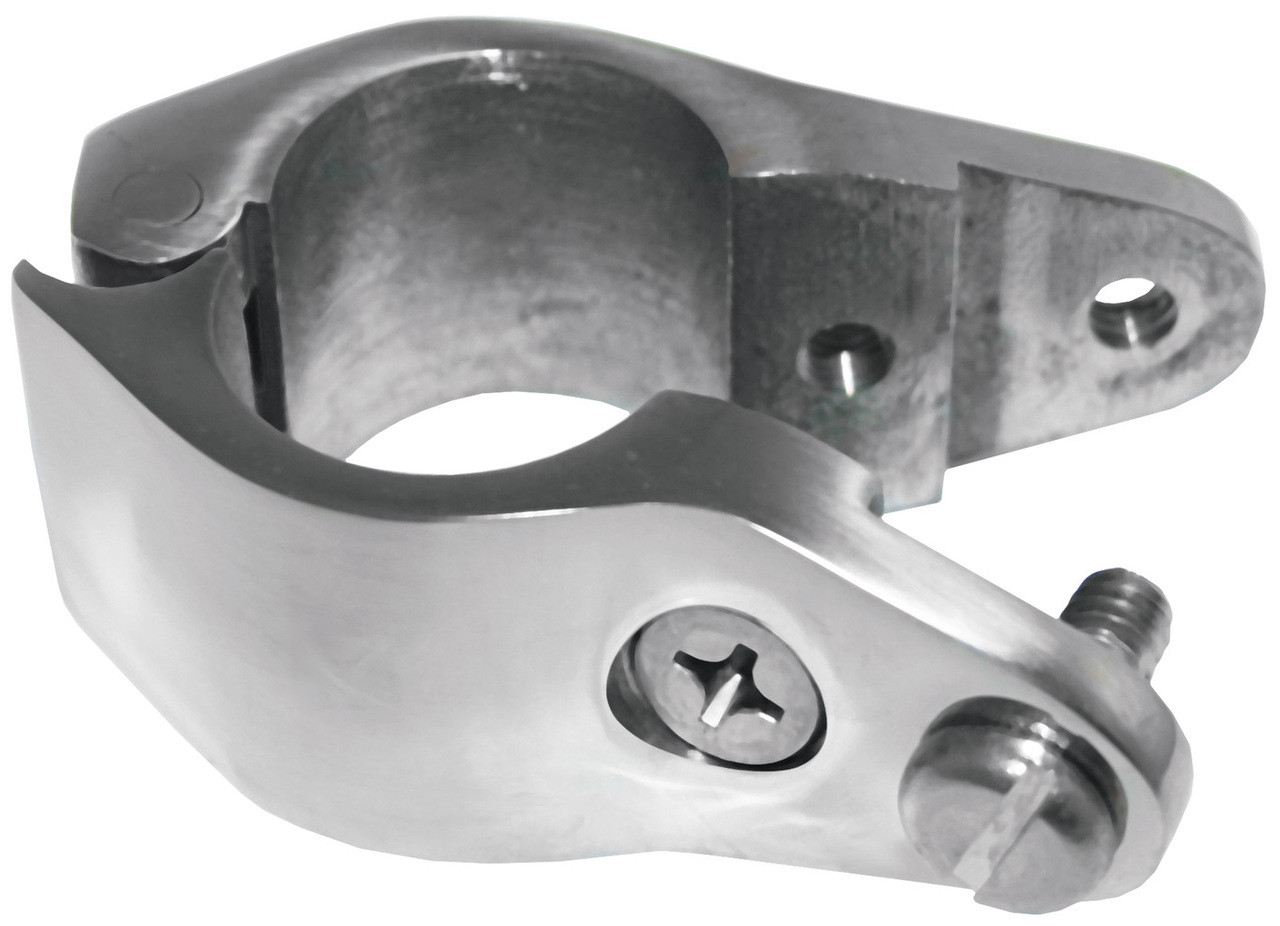 Canopy Clamp Hinged 22mm