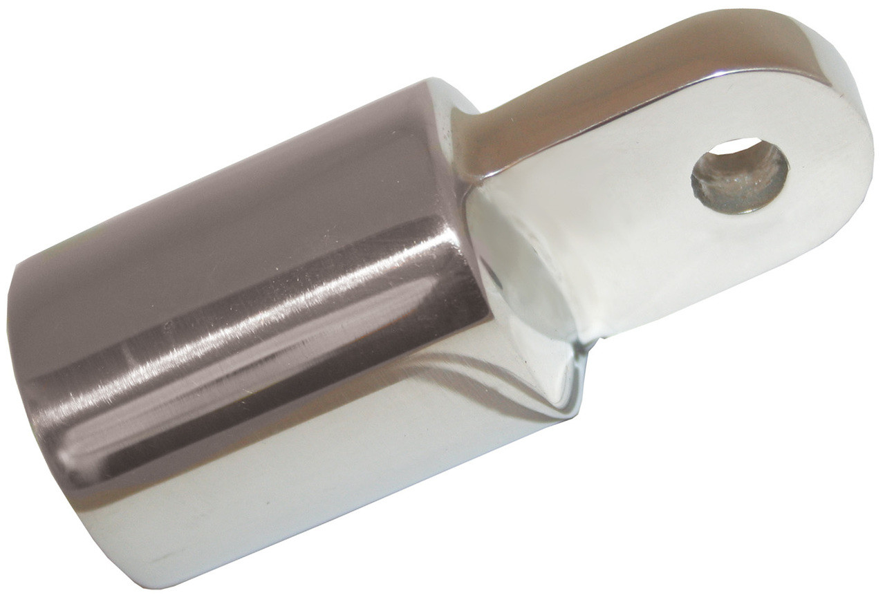 Canopy Tube End S/S 25mm