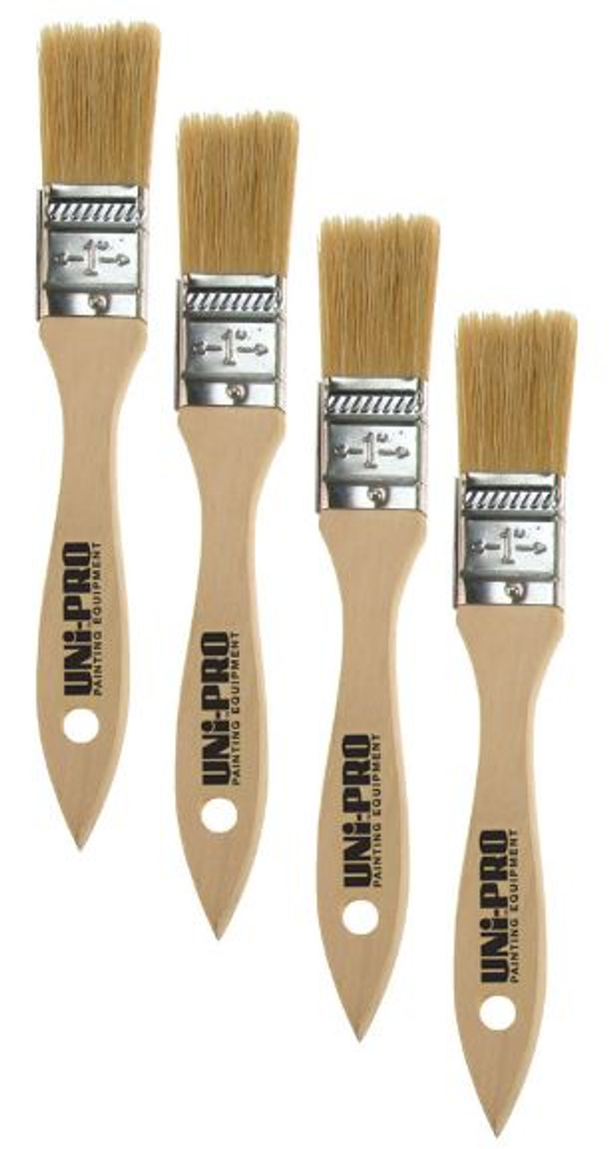 25mm Natural Bristle Brushes Box 12