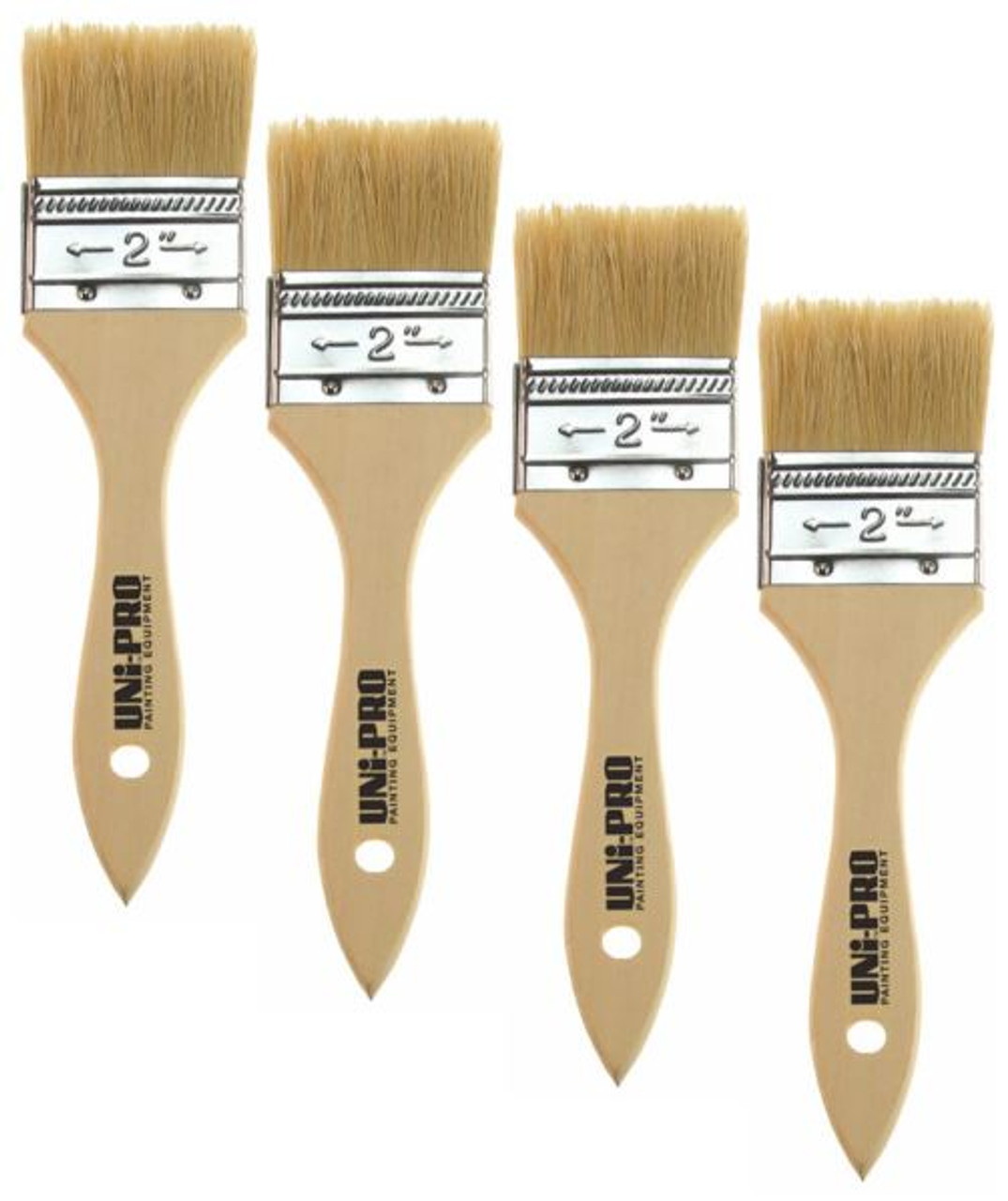 50mm Natural Bristle Brushes Box 12