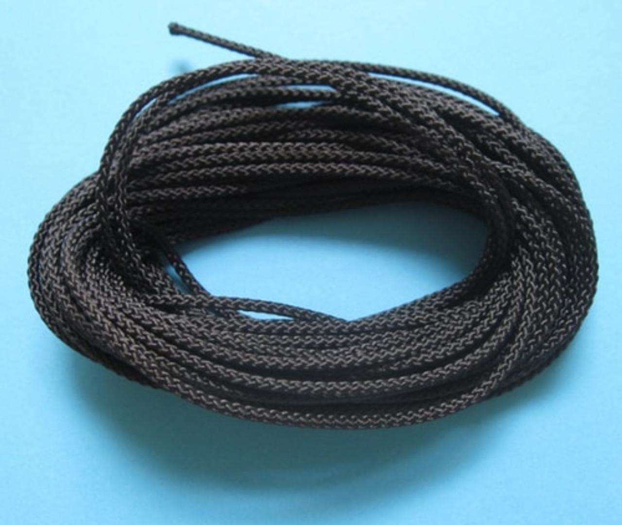 VB Cord - Black 3mm x 1metre