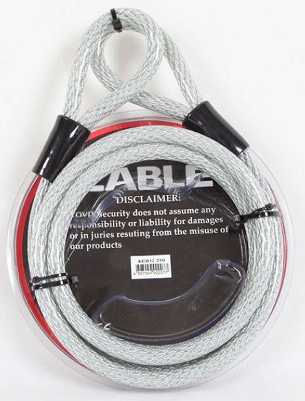 Heavy Duty Security Cable, ideal with alarmed locks.