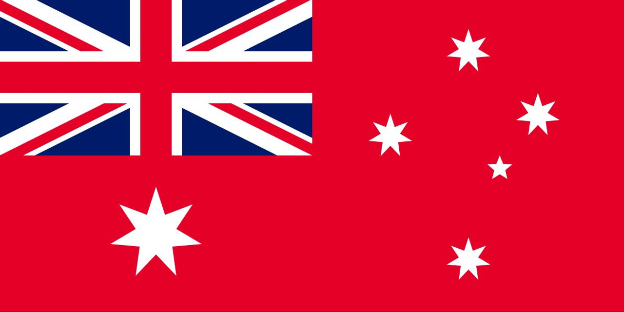 Australian Flag - Red Ensign 500mm x 250mm