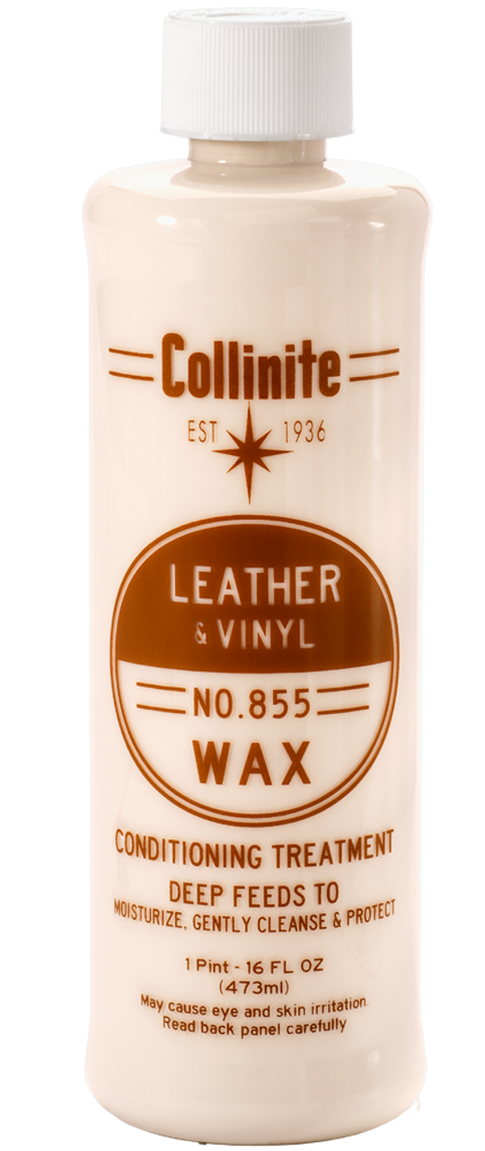 Collinite #855 Leather & Vinyl Wax 473ml
