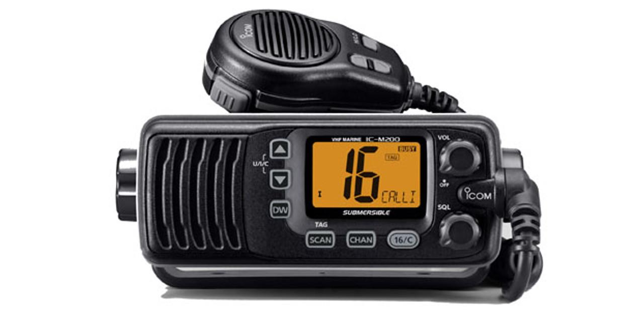 VHF Marine Transceiver M200 Black
