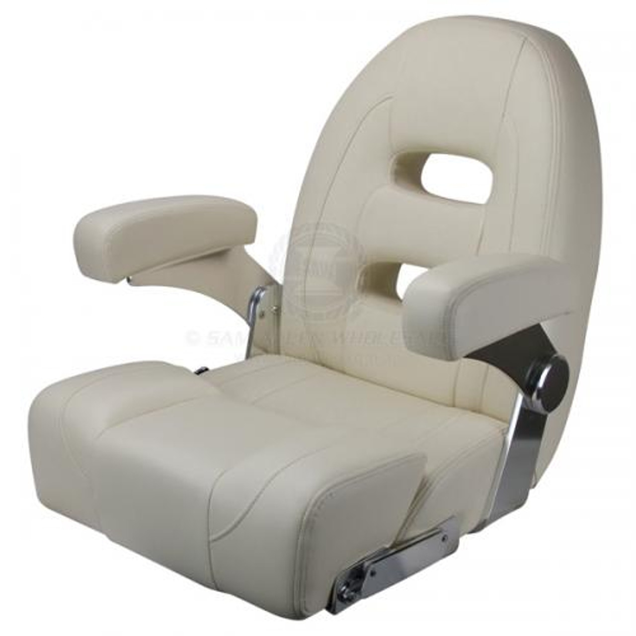 Helm Chair - Cruiser Series with High Back - Ivory