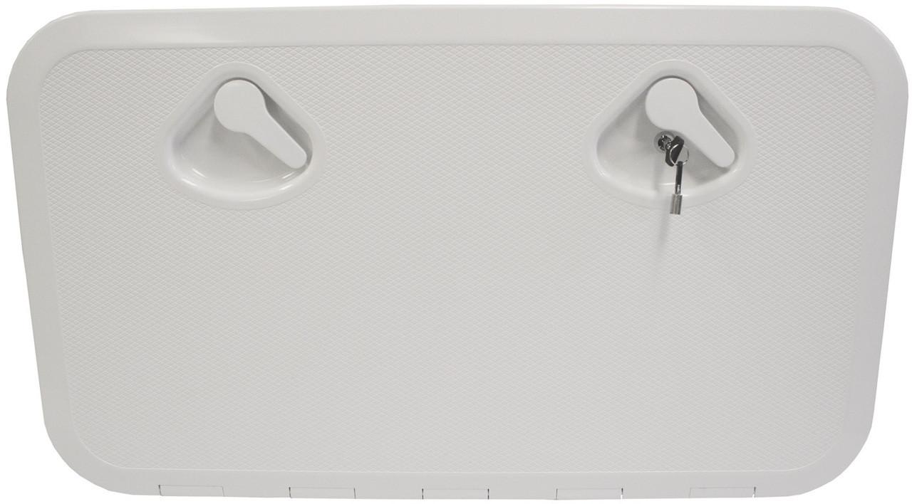 Nuova Rade Hatch -Deluxe/Lock 600 White